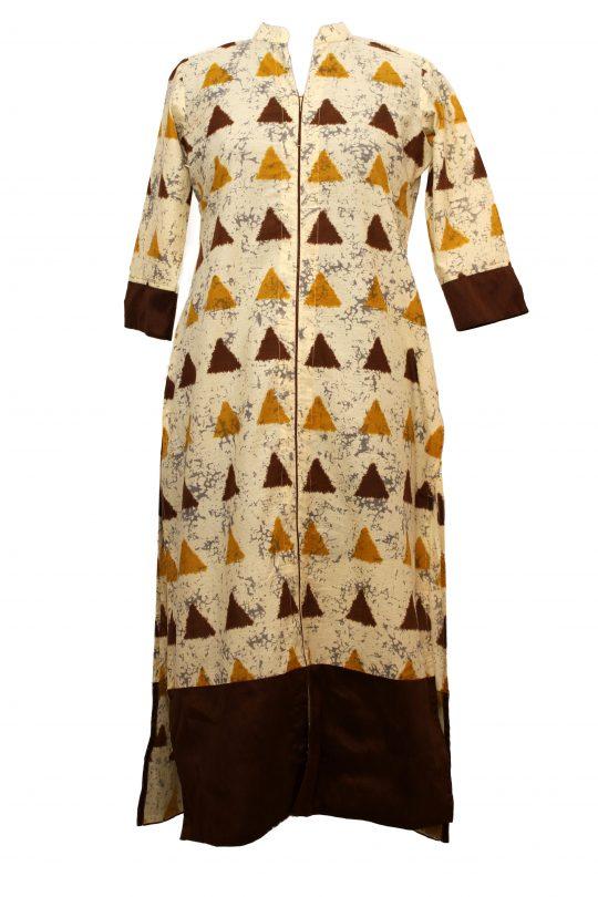 Brown Cotton Tunic