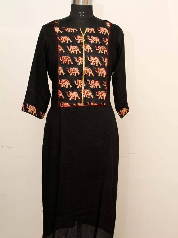 Elephant Design Tunic