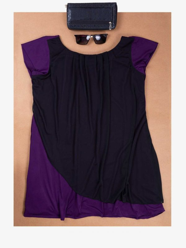 Purple Overlay Top
