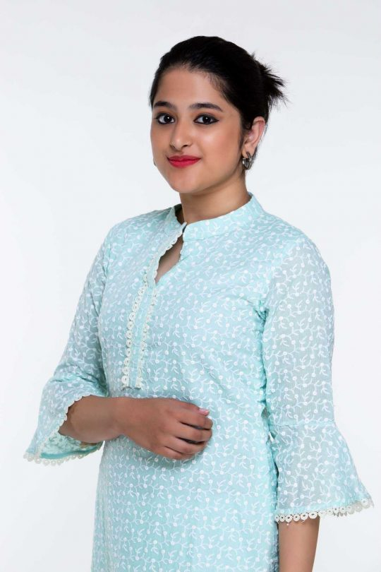 Plus Size Cotton Tunic