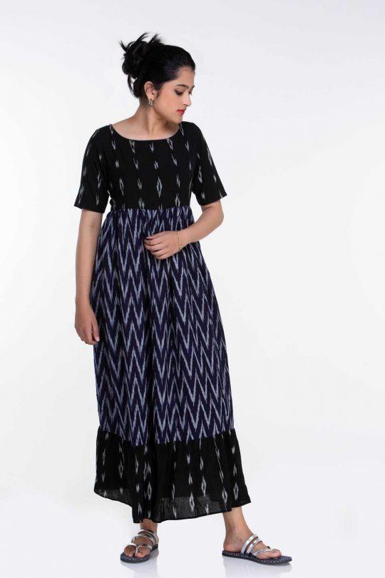 Plus Size Ikat Dress