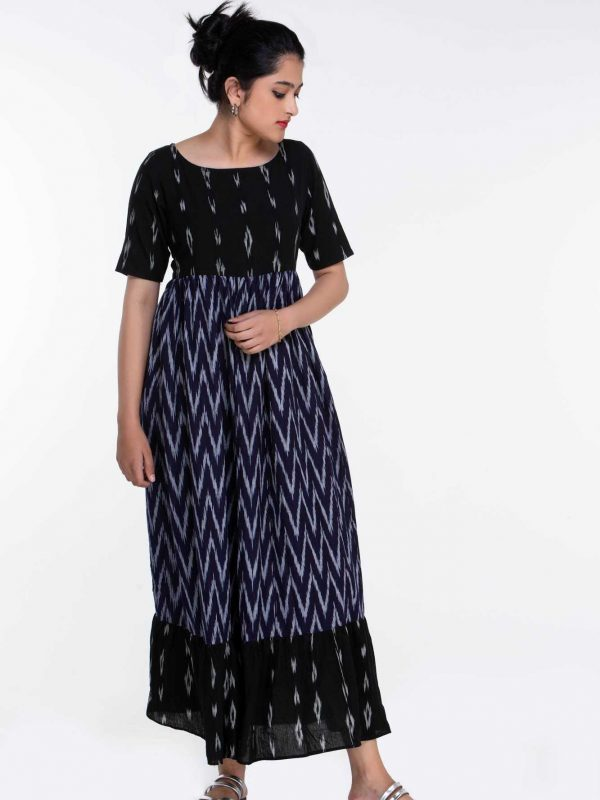 Plus Size Ikat Dress