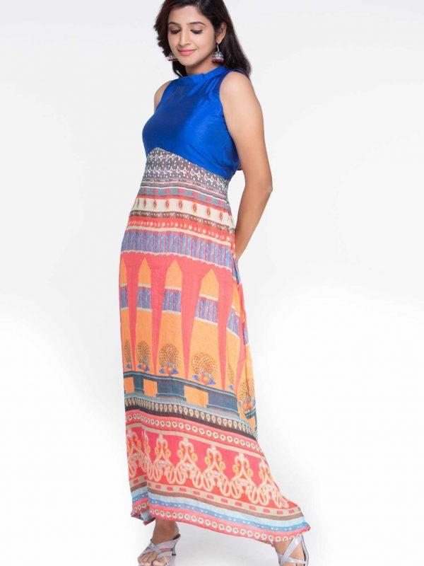 Silk Maxi Gown