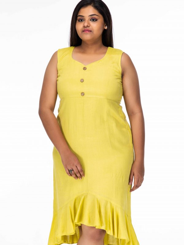 SWAY ME AWAY FLARED PLUS SIZE SHORT DRESS