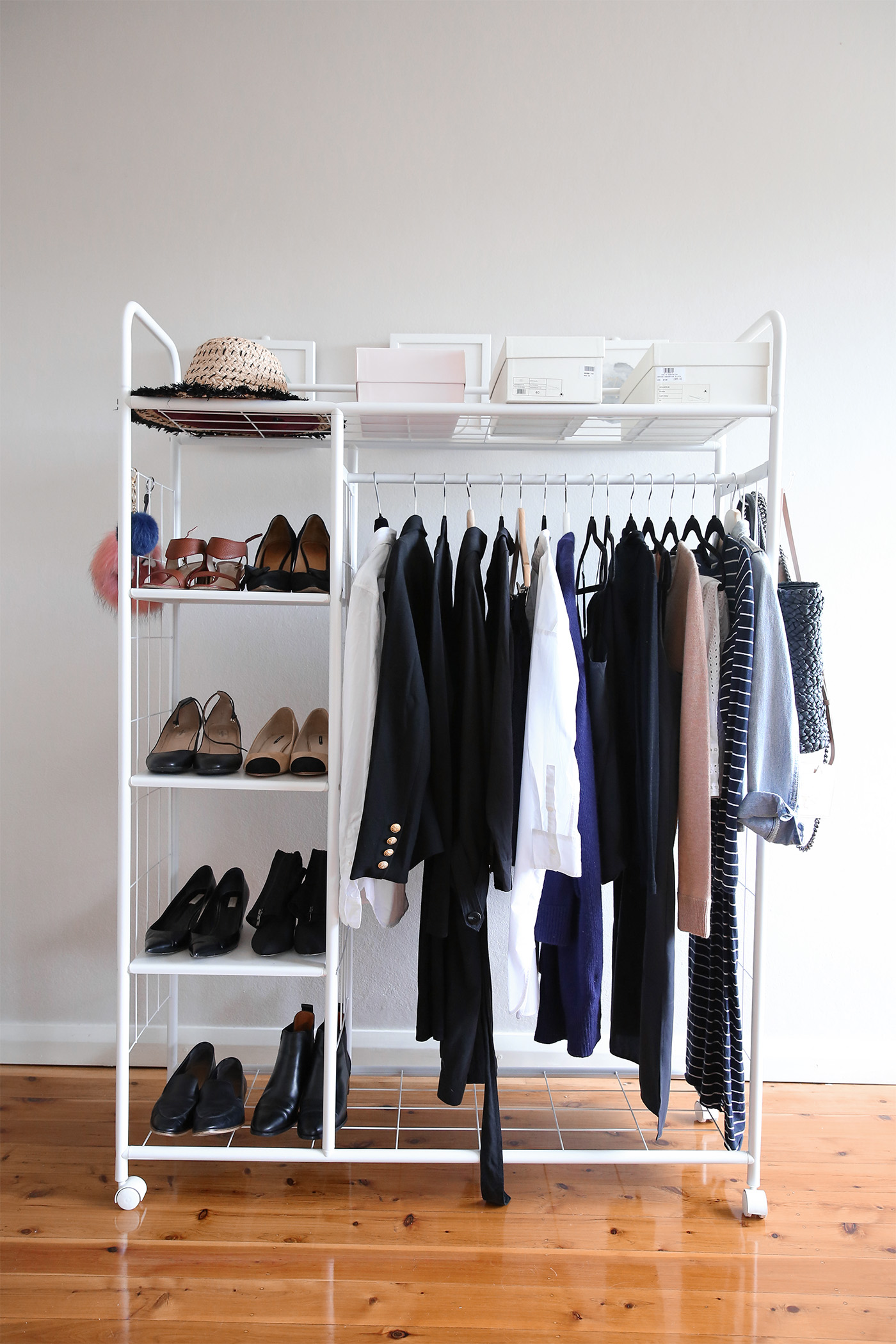 Capsule Wardrobe example