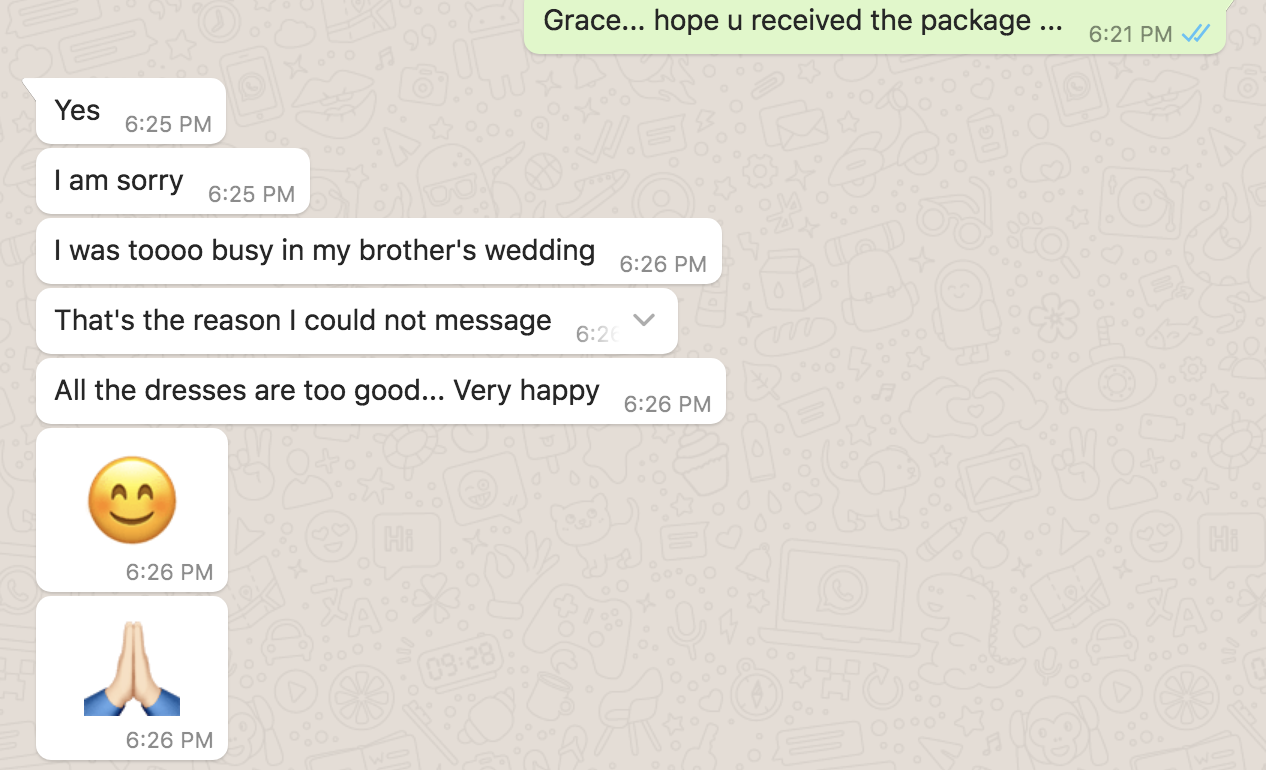 Grace, Chennai