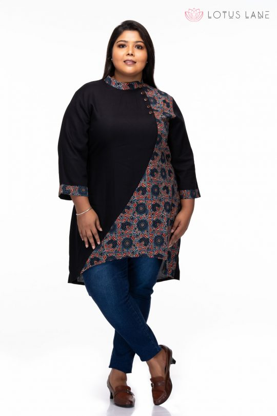 plus size Relaxed fit Tunic -full
