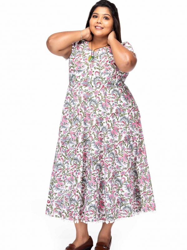 Plus size Fashion passion cotton dress