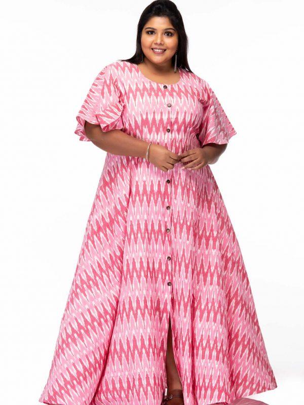 Plus size Basics alive ikat dress