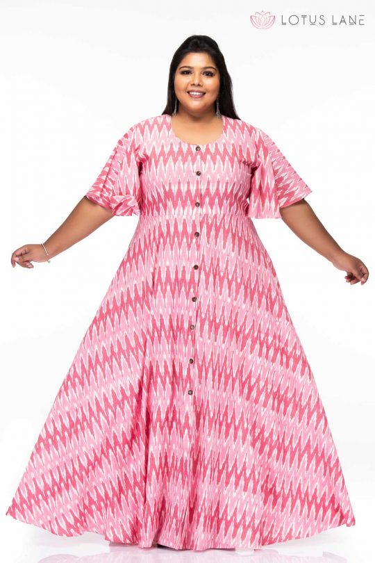 Plus size Basics alive ikat dress