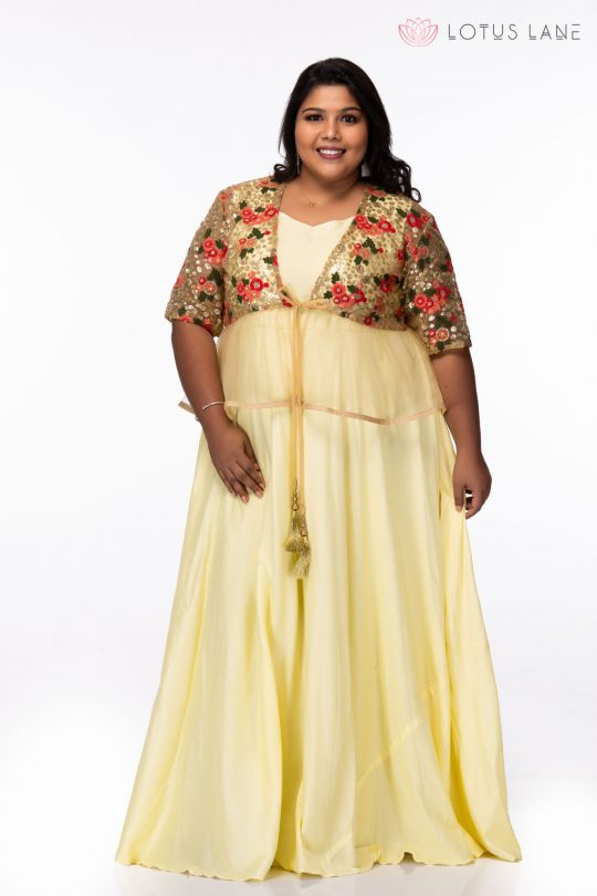Plus size Party wear dress