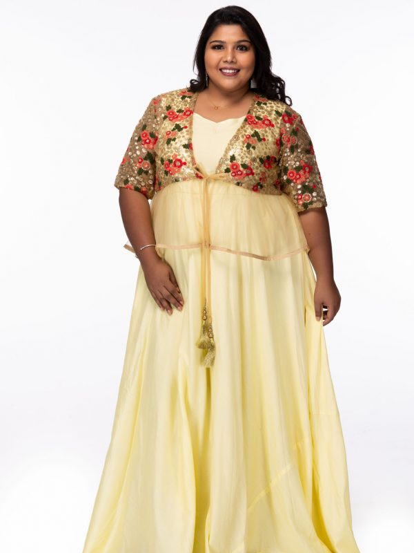 Plus size Party wear dress
