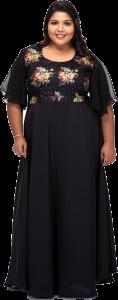Black Plus size Dress