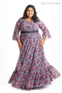 The Best Yet Printed Floral Gown