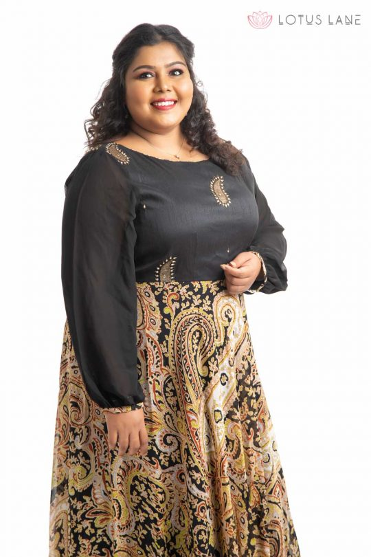 Plus Size Dress - Black