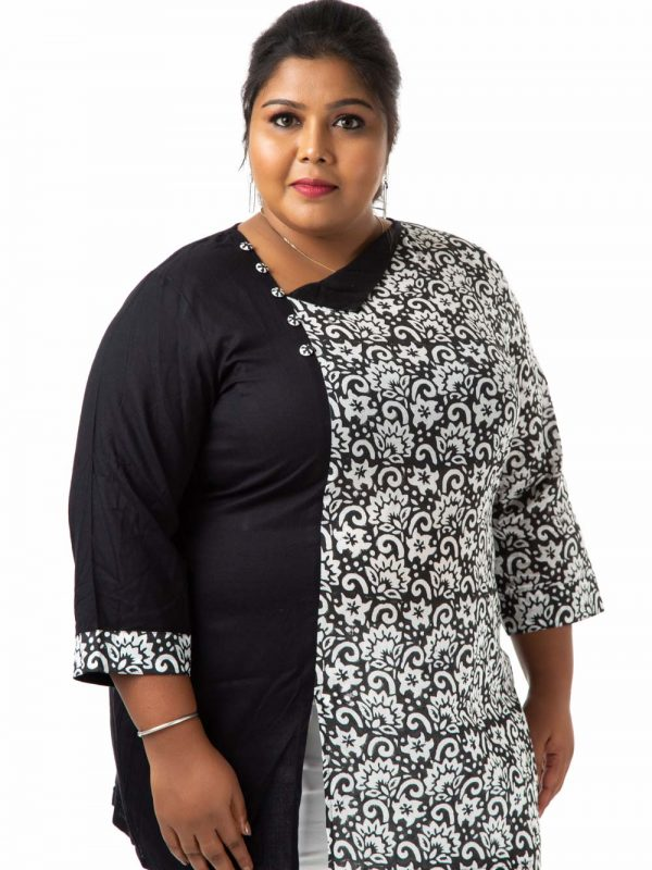 Plus Size Top - Black