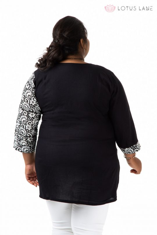 Plus Size Top - Black
