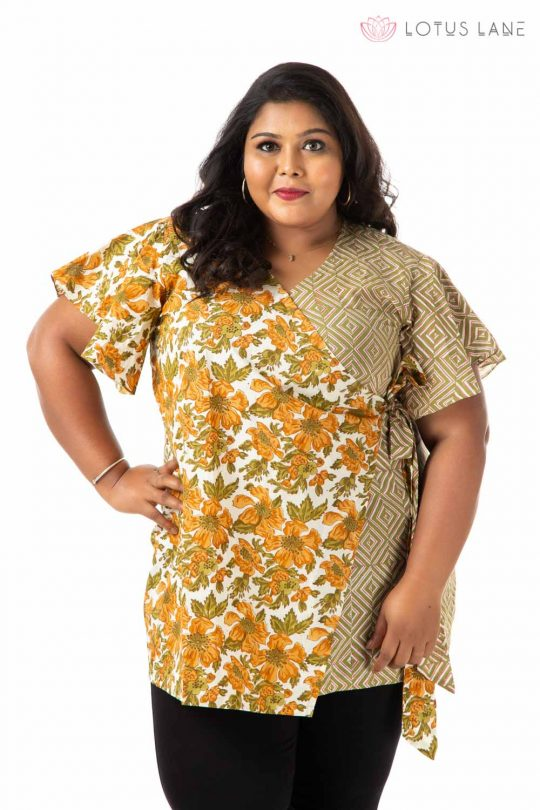 Plus Size Top - Green
