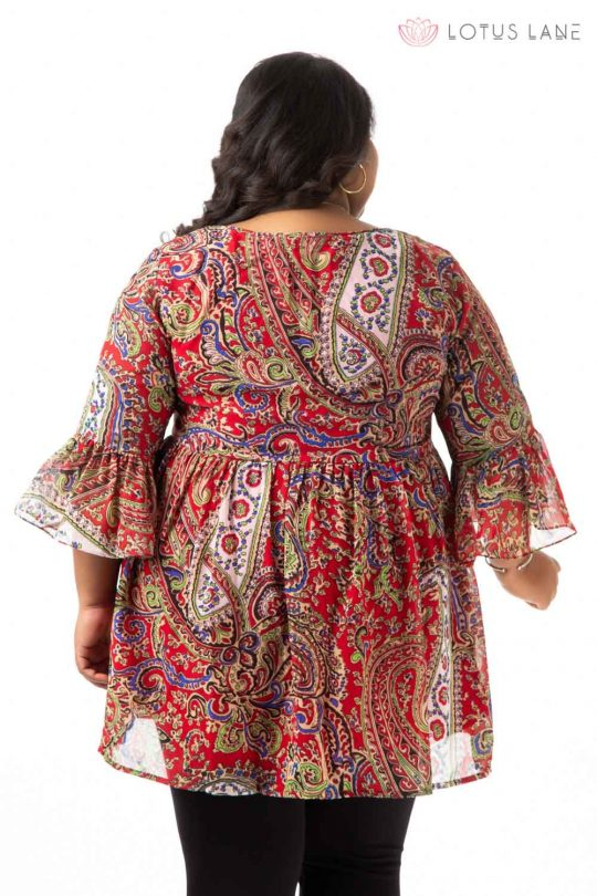 Plus Size Top - Red